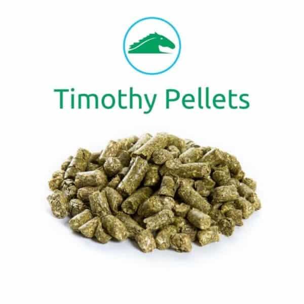 Sample of Timothy Hay Pellets