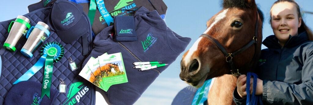 Team Forageplus Horse Rider Sponsorship