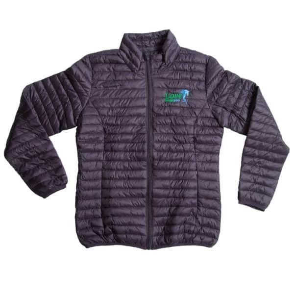 Forageplus Fineline Padded Jacket - Aubergine - Love