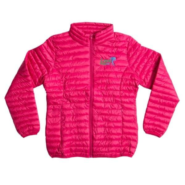Forageplus Fineline Padded Jacket - Hot Pink - Love
